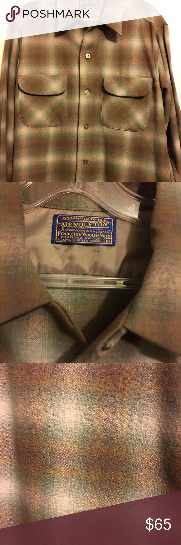 Pendleton Board Shirt Men's Pendleton board shirt size Medium in Mint condition Pendleton Shirts Casual Button Down Shirts