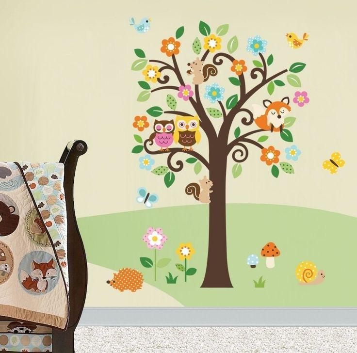 Ideal Wir haben Ihnen ein paar Beispiele zusammengestellt die zeigen auf welche Art und Weise das Wandtattoo f r das Kinderzimmer die Atmosph re verbessern kann