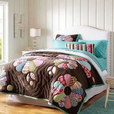 Raleigh Camelback Upholstered Bed + Headboard #potterybarnteen