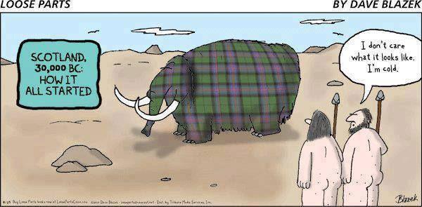 Scottish Tartan Joke Saving For A Rainy Day Pinterest