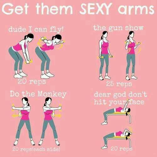 sexy arm workout :)