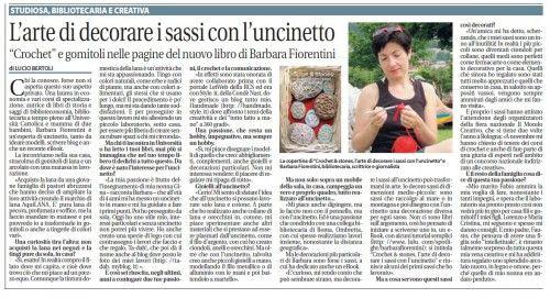 Libertà, sassi, crochet & stones, Barbara Fiorentini