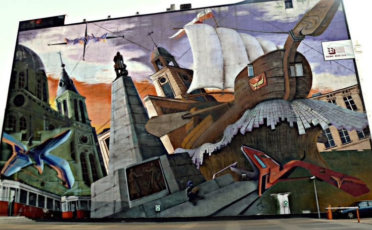 The Biggest Graffity in Lodz!