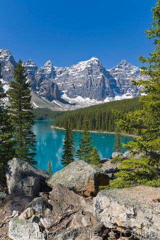 Foto-Kunstdruck Banff, Canadian, Rocky, Mountains, Alberta von Prisma (F1 Online) auf Glossy normal