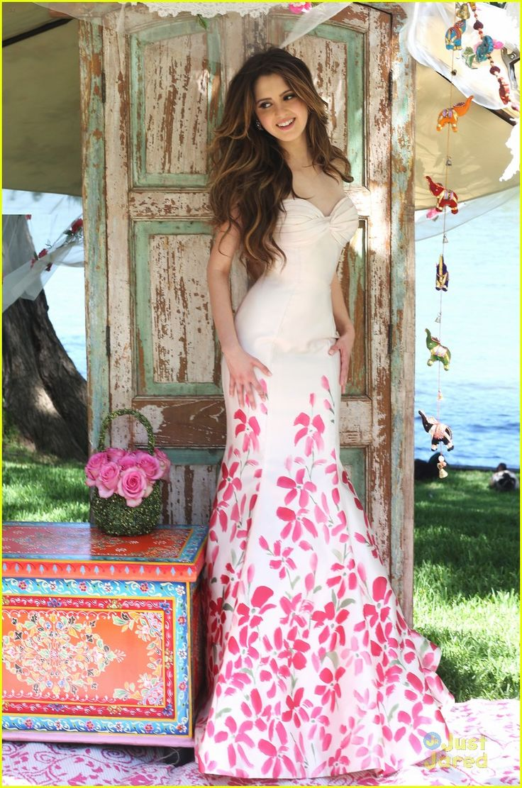 Laura Marano Curates New Prom Collection With Sherri Hill (Exclusive Pics): Photo #873794. How glamorous does Laura Marano look in these new pics for the Sherri Hill Spring 2016 collection?!    The 19-year-old singer and actress curated a new capsule collection…