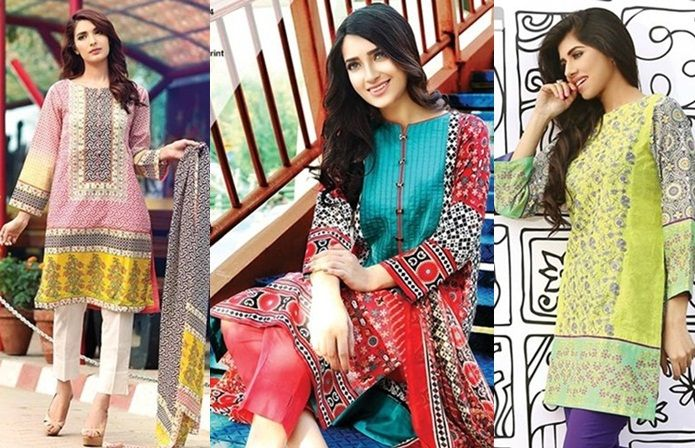 Pakistani Dresses Designs for Girls 2017