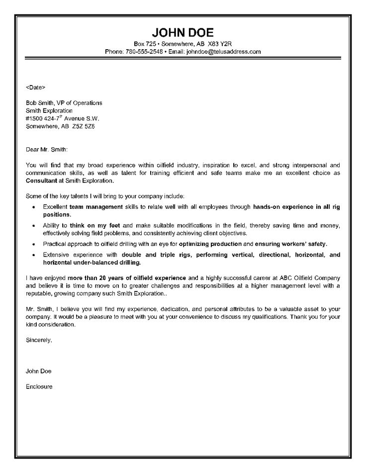 9 best Oil field images on Pinterest Sample resume, Learning and - entry level cover letter writing