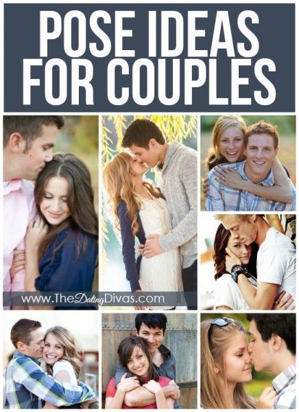 45 different posing ideas for couples with lots of examples for inspiration!