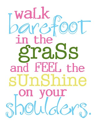 Image result for walking in the sunshine quotes