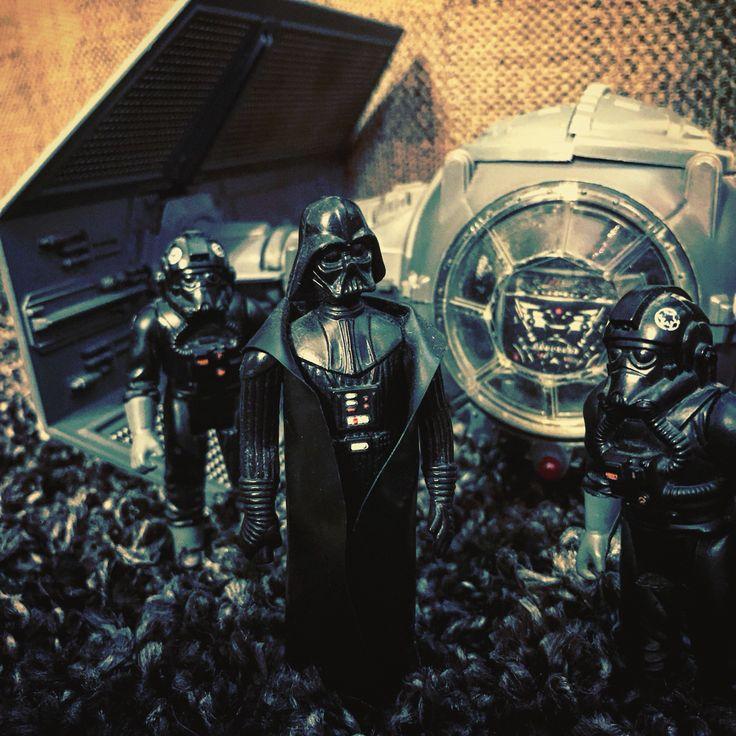 Vader's tie fighter