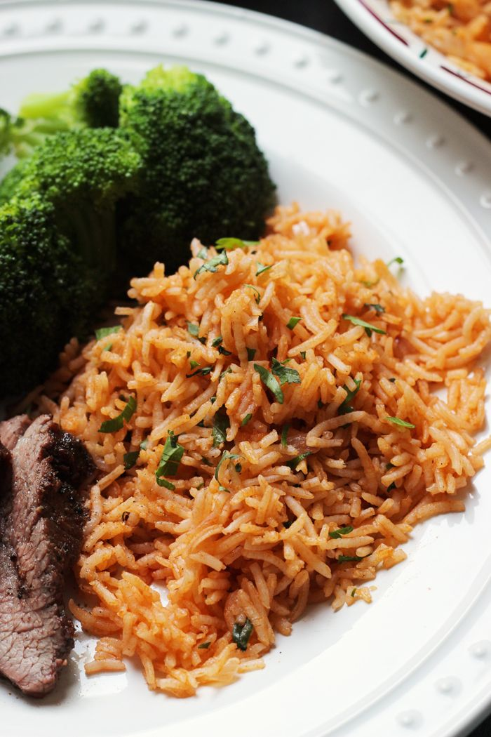 Chimichurri Rice takes cilantro, garlic, and spicy pepper, and blends it into a delicious rice side dish, reminiscent of the Argentinian condiment.