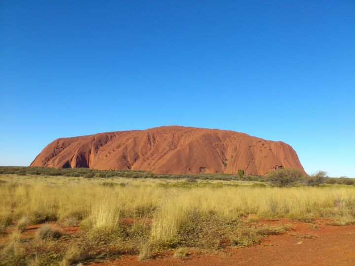 Uluru, Northern territory, Central Australia - Red Rock Downunder, sacred place in Aboriginal culture ~ #Australia #Uluru