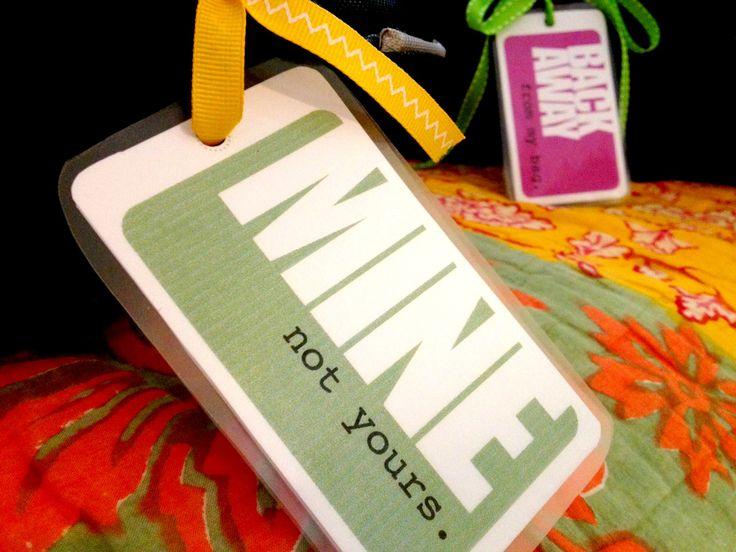 Cute printable DIY luggage tags!
