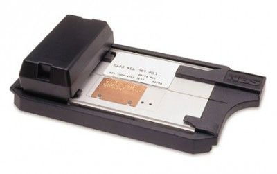 Credit card machine.