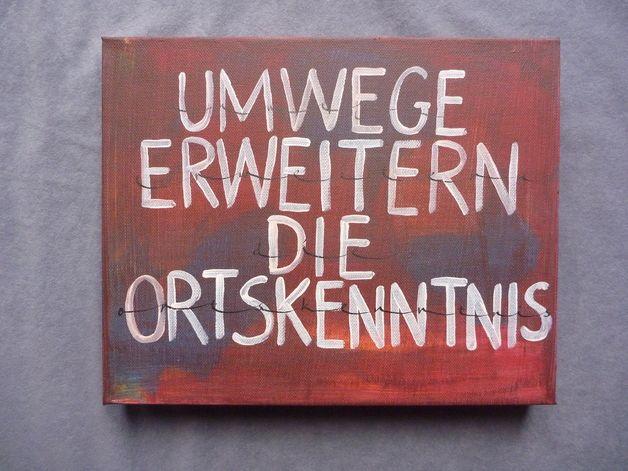 Text: Umwege erweitern die Ortskenntnis ...repinned für Gewinner!  - jetzt gratis Erfolgsratgeber sichern www.ratsucher.de