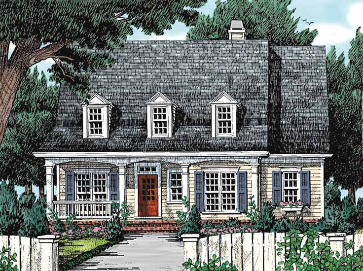 Cottage House Plan With 2192 Square Feet And 4 Bedrooms From Dream Home  Source | House