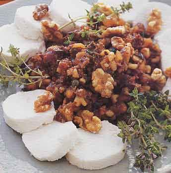 Fig and Walnut Tapenade with Goat Cheese... one of my go-to recipes