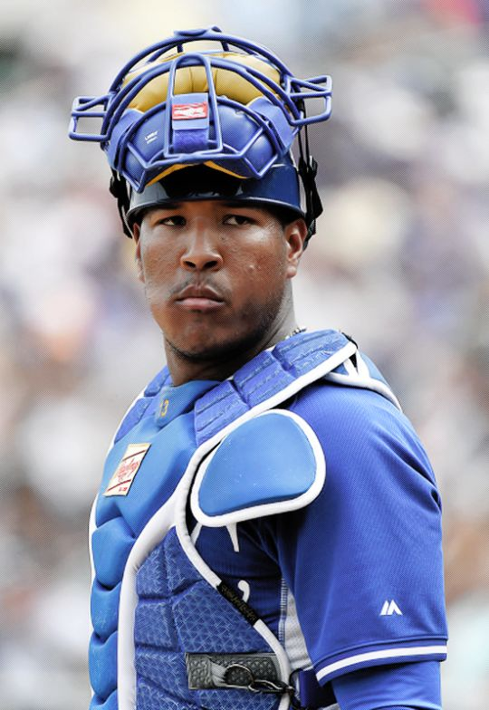 Salvador Perez, Kansas City Royals - gold glove and all around rock star!