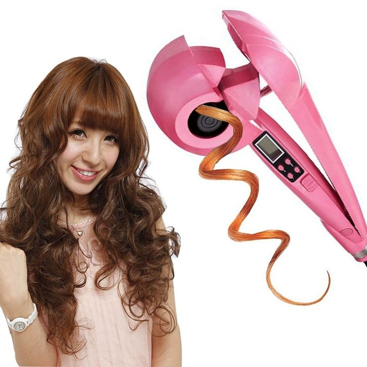Professional LCD Magic Hair Curling Machine Electric Hair Beauty Style Automatic Hair Curler