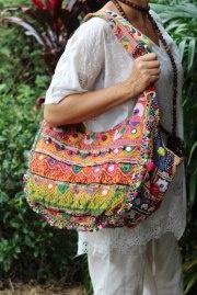 Colourful, functional and full of personal style..LALOOM Banjara handbags