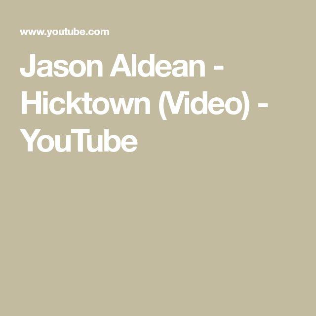 Jason Aldean - Hicktown (Video) - YouTube