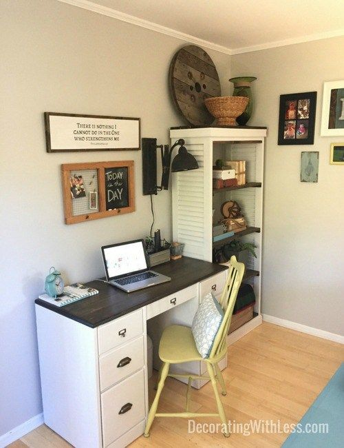 17 best images about home office decorating ideas on for Decorate an office on a low budget