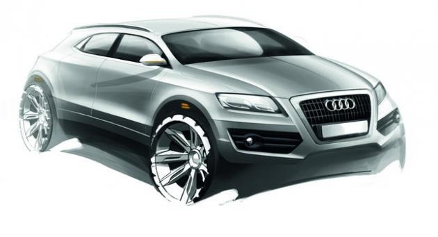 Is Audi Preparing Q6 Crossover to Compete With BMW's X6 in 2016?