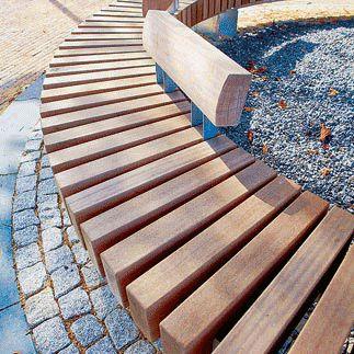 best 20 curved bench ideas on pinterest. Black Bedroom Furniture Sets. Home Design Ideas