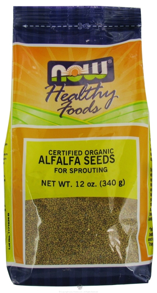 Alfalfa Seeds For Sprouting Certified Organic - 12 oz. $7.51