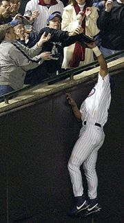 I was thinking, as I always do and it usually lands me in hot water, about the 2003 Cubs and how the resulting Steve Bartman interference caused the impending doom of the team to reach the World Se...