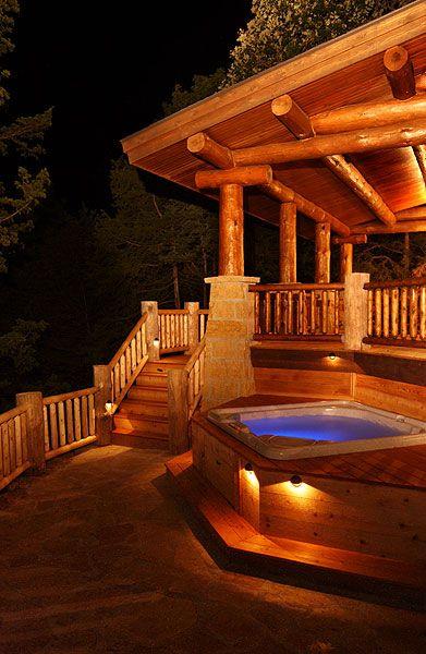 The Cottage on Lake Galena, aka my dream deck :)