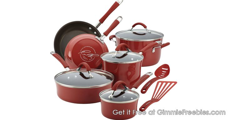 Free Rachael Ray Cookware Set! - http://gimmiefreebies.com/free-rachael-ray-cookware-set/ #Cook #Cooking #Gift #Giveaway #Recipe #Recipes #Sweeps #Sweepstakes #ad
