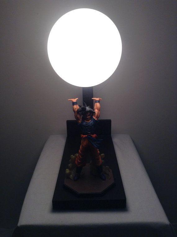 Dragon Ball Z lampe / lampe de Goku / esprit bombe lampe / DBZ / Super Saiyan lampe / lampe de Kamehameha / Kit lampe