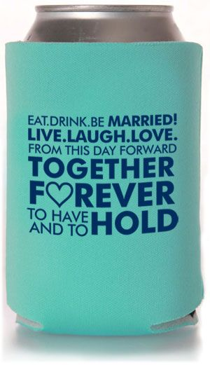 101 best Can Koozies images on Pinterest | Wedding koozies ...