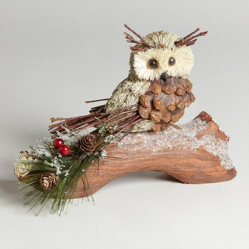 how to make pinecone owls