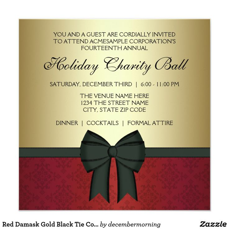 180 best Corporate Christmas Party Invitations images on Pinterest ...