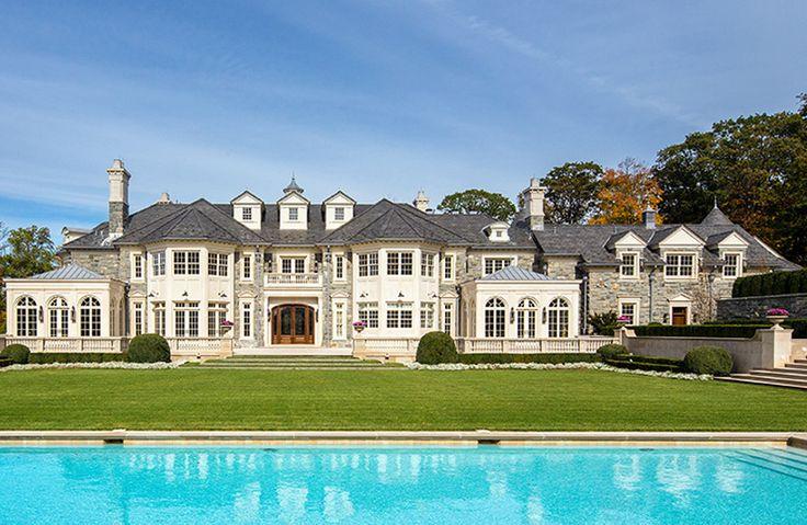 Plan 85 stone mansion architecture matched up complete floor plans pinterest - Mansion house plans consummate refinement ...