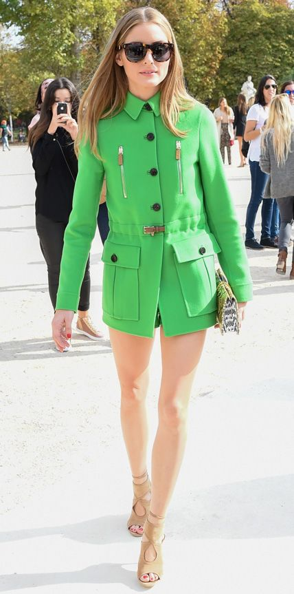 Olivia Palermo in Valentino from #InStyle
