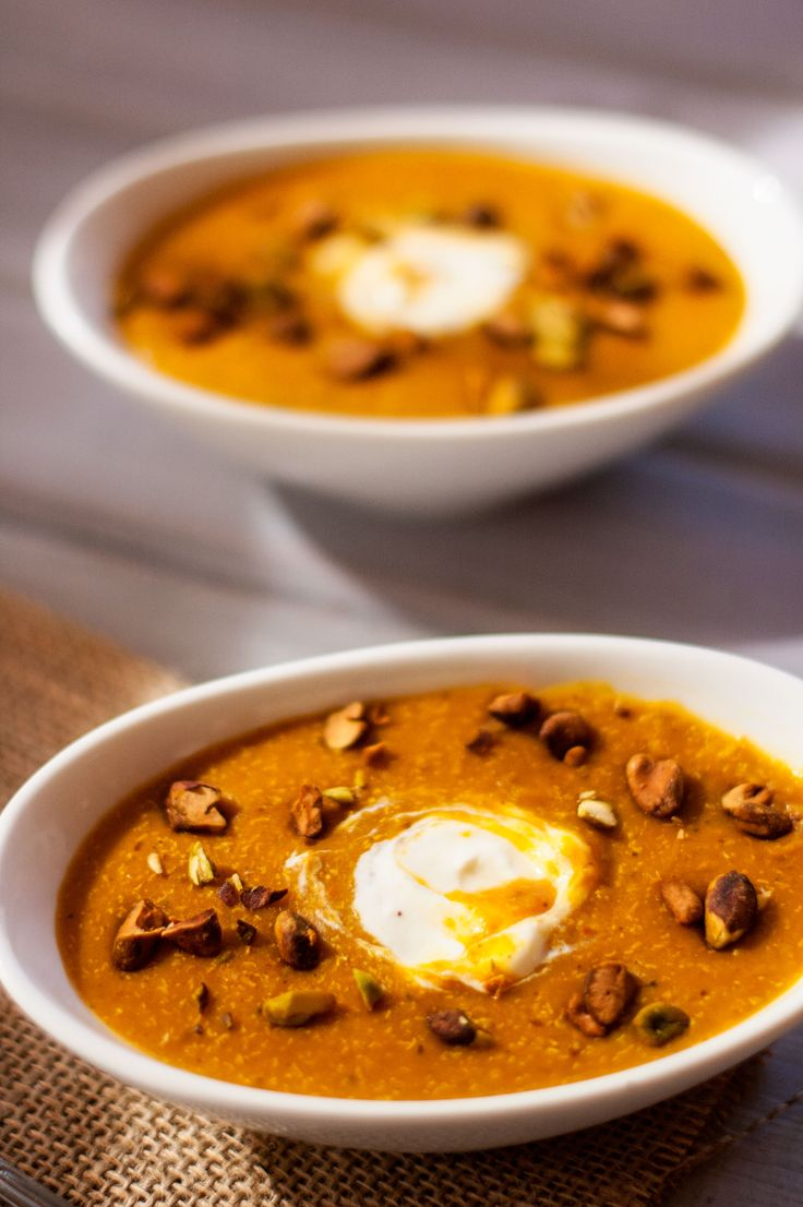 Quinoa Butternut Squash Soup | Recipe | Good news, Soup ...
