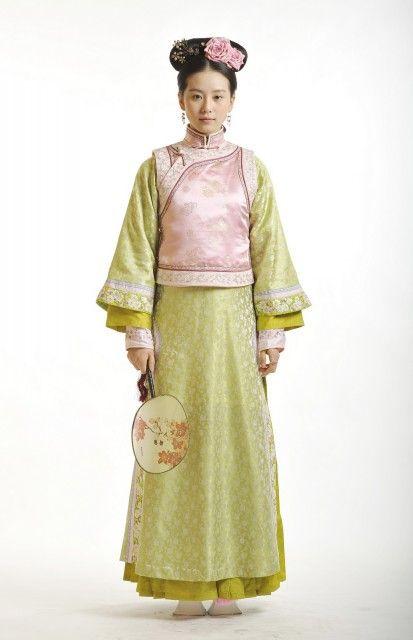 Eye opening - Qing Dynasty Costumes - Women