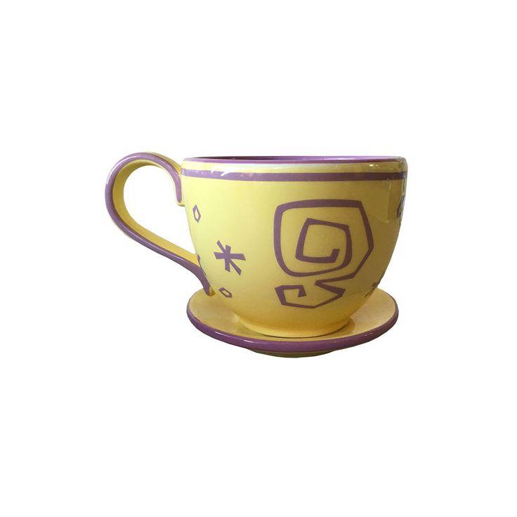 Disney Alice in Wonderland Mad Tea Party Yellow Teacup Coffee Mug