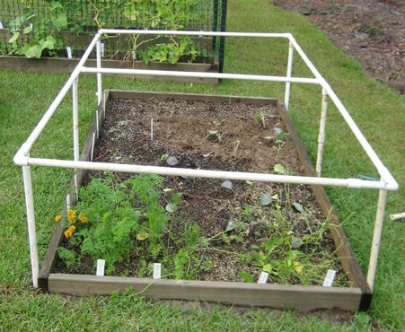 Frame For Protective Raised Bed Cover This Looks Like It