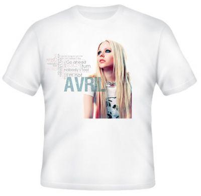 Kaos Avril Lavigne 8