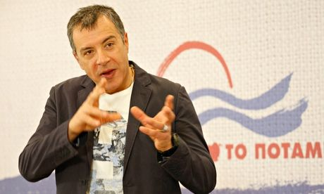 Stavros Theodorakis's Potami 'aims to be a movement that includes people from all walks of life [that addresses] the deficit of real-life ex...