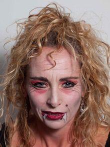 Vampir-Lady - Dracula Queen - Vampirin makeup schminken