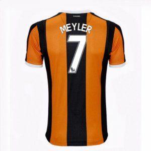 16-17 Hull City FC Cheap Home Meyler #7 Replica Football Shirt [I00345]