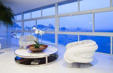 ♂ Life by the sea Tríplex Copacaba, Rio de Janeiro, Brasil   Carlos Cesar Ferreira Arquitetura #hotelinteriordesigns