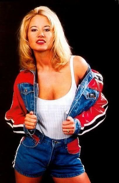 One of the hottest WWE Divas ever (even though it was WWF then) Tammy Lynn Sytch