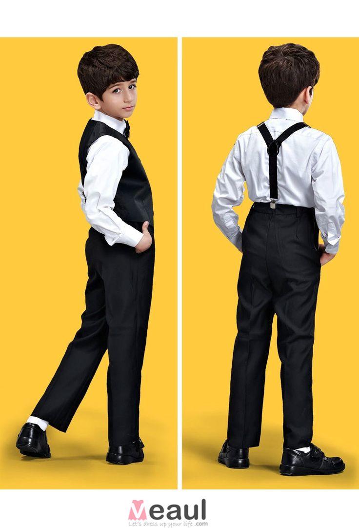 Enfants Tuxedo / Veste / Vetements De Performance / Petits Costumes Fixes / Anneau Porteur Costumes [2415030010] - Veaul.com