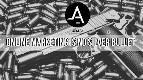 If you are setting up your social media pages with the main aim to sell your product and service, you are doing it wrong. We want to tell you up front that although social media does more often than not drive big sales, that is not its entire purpose. http://www.atkasa.com/online-marketing-is-no-silver-bullet/#utm_sguid=137708,b0166950-b97b-e0e6-b0ae-7257d2d2b9aa #SocialMedia #Marketing #Digital #Business